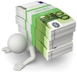 Beim Zugewinnausgleich können auch Schulden zum Endvermögen hinzugerechnet werden, die während der Ehe entstanden.
